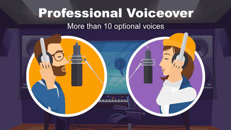 Professional voiceover